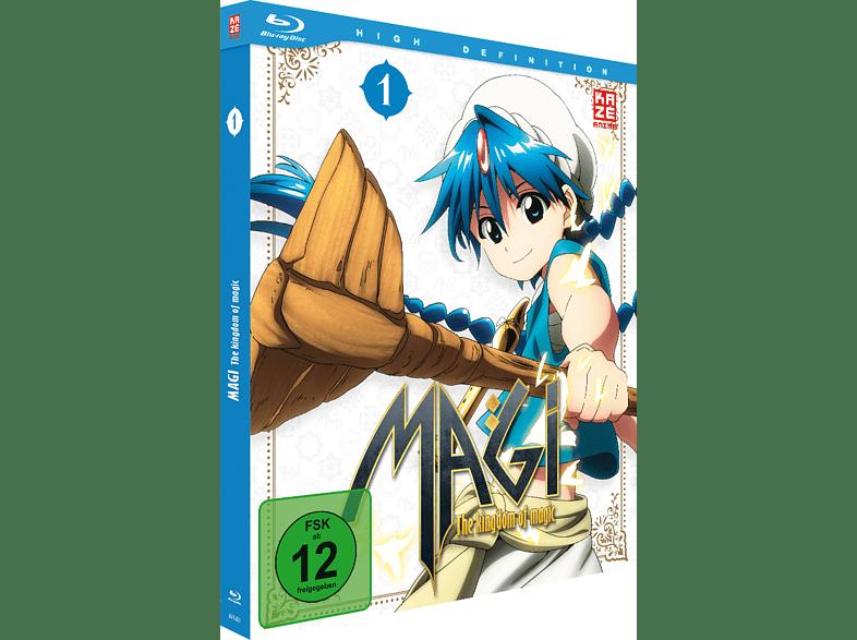 Magi: The Kingdom of Magic - Box 1 [Blu-ray]