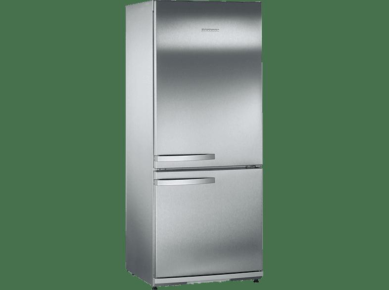 SEVERIN KS 9773  Kühlgefrierkombination (A++, 179 kWh/Jahr, 1500 mm hoch, Edelstahl)