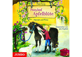 Ponyhof Apfelblüte - Hannah und Pinto - 1 CD - Kinder/Jugend