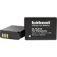 HÄHNEL HL-PLD10 für Panasonic DMW-BLD10 HL-PLD10 Akku, Li-Ion, 7.2 Volt, 1050 mAh