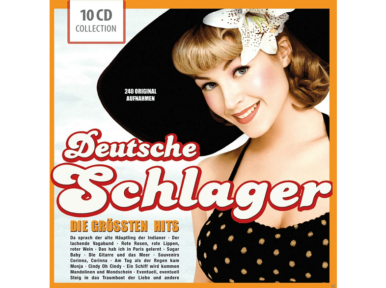 Various - Deutsche Schlager - Die Größten Hits [CD]