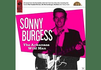 Sonny Burgess - The Arkansas Wild Man  - (CD)