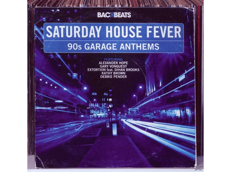VARIOUS - Saturday House Fever-90's Garage Anthems [CD]