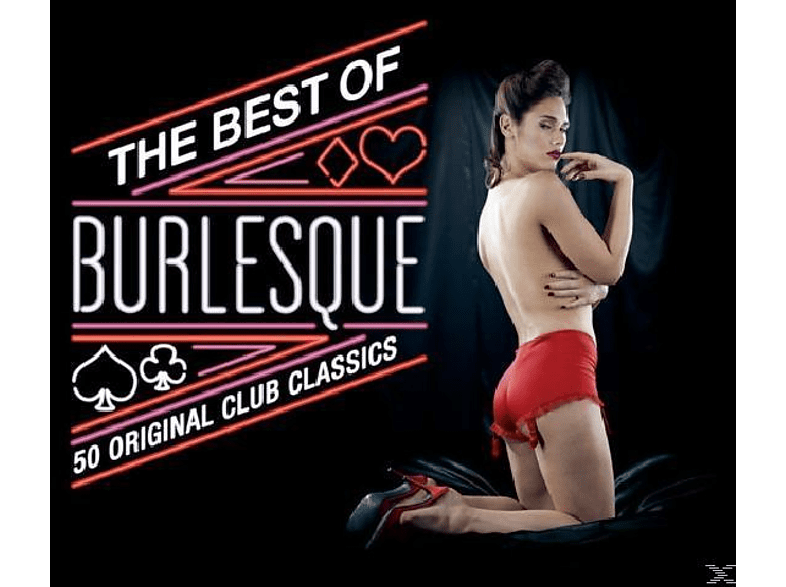 VARIOUS - Best Of Burlesque [CD]