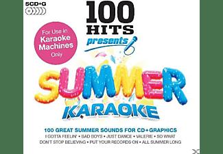 Karaoke - 100 Hits Presents Summer Karaoke  - (CD)