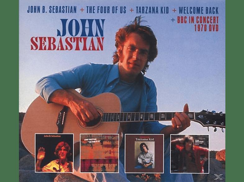 John Sebastian - John B.Sebastian+The Four Of Us...(Plus) [CD + DVD Video]