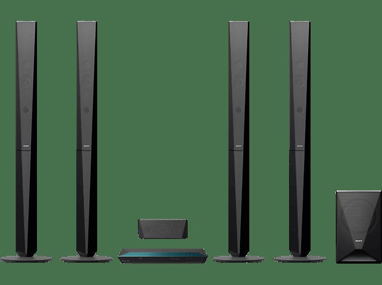 SONY BDV-E6100  5.1 Heimkino-System (Bluetooth, Schwarz)