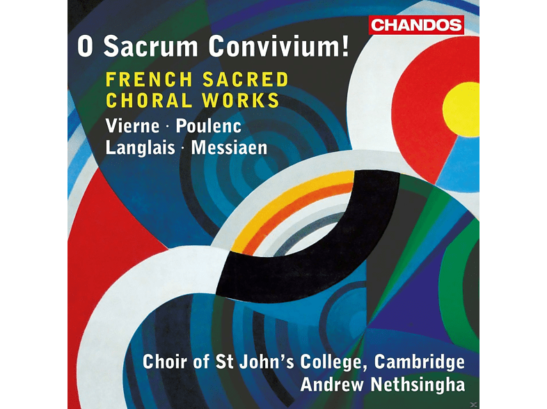 Andrew Nethsingha, Choir Of St. John's College - French Sacred Choral Works [CD]