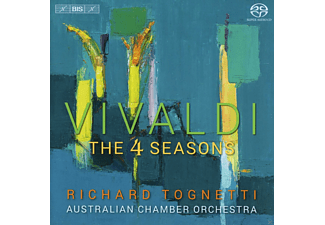 Richard Tognetti, Australian Chamber Orchestra - The 4 Seasons - (SACD Hybrid)