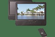 SOUNDMASTER PDB1800 Tragbarer DVD-Player, Schwarz