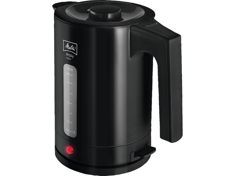 MELITTA 1016-02 Easy Aqua Wasserkocher, Schwarz
