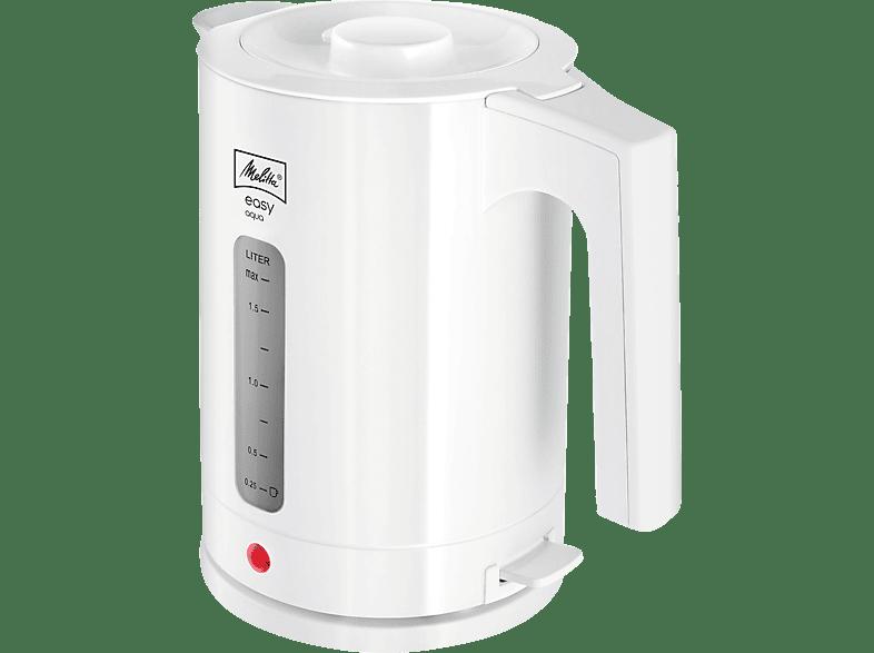 MELITTA 1016-01 Easy Aqua Wasserkocher, Weiß