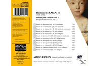 Mario Raskin - Cembalosonaten Vol.2 [CD]