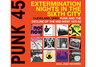 VARIOUS - Punk 45:Extermination Nights In The Sixth City - (CD)