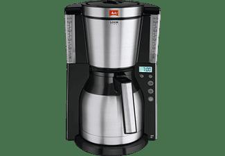 MELITTA Look Therm Timer 1011-16 Filterkaffeemaschine Schwarz/Edelstahl
