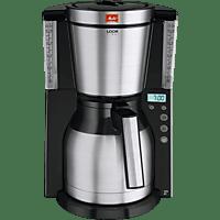 MELITTA 1011-16 Look IV Therm Timer  Kaffeemaschine Edelstahl/Schwarz