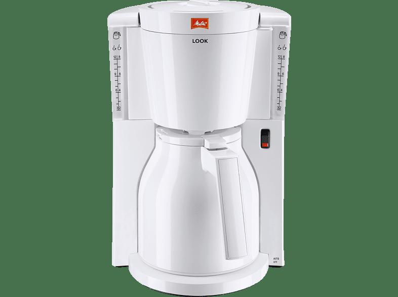 MELITTA 1011-09 Look IV Therm Kaffeemaschine Weiß