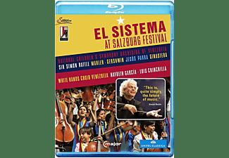 Simon Rattle - El Sistema At The Salzburg Festival  - (Blu-ray)