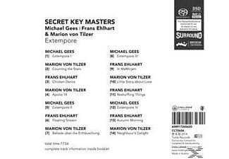 Frans Ehlhart, Mario Von Tilzer, VARIOUS, Michael Gees - Secret Key Masters  - (CD)