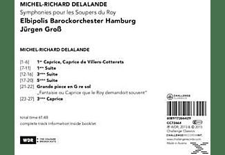 Elbipolis Barockorchester, VARIOUS - Symphonies Pour Les Soupers Du Roy  - (CD)