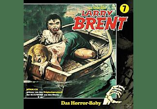 Larry Brent - Larry Brent 07: Das Horror-Baby  - (CD)
