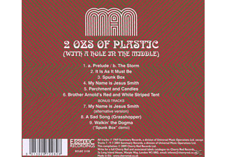 Man - 2 Oz's Of Plastic With A Hole In The Middle  - (CD)