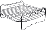 PHILIPS HD 9904 Grillrost