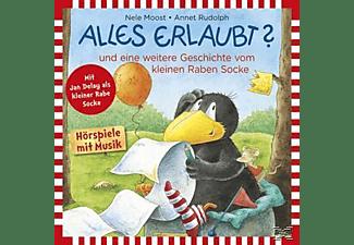 Rabe Socke - Alles Erlaubt!...Und Weitere Geschichten  - (CD)