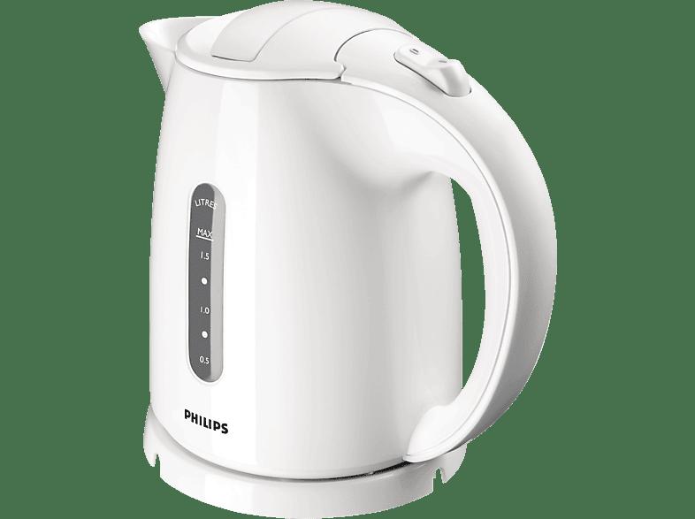 PHILIPS HD4646/00 Wasserkocher, Weiß