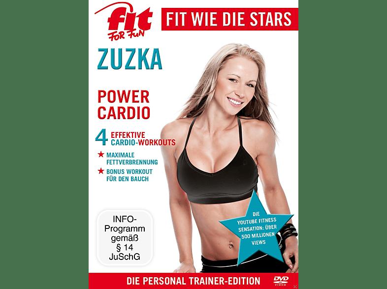 Fit For Fun - Fit wie die Stars - Zuzka - Power Cardio [DVD]