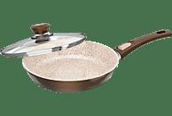 GENIUS 24148 Cerafit Granit Bratpfanne (Aluminium, Beschichtung: Keramik)