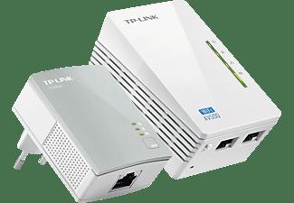 TP-LINK WLAN-Powerline-Extender Kit AV500, weiß (TL-WPA4220KIT(DE))