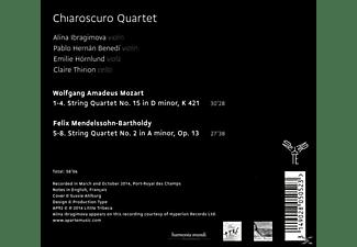 Chiaroscuro Quartet - Streichquartette  - (CD)