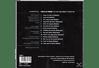 Club Médiéval - Amor, Tu Solo'l Sai - Ballate E Madrigali  - (CD)