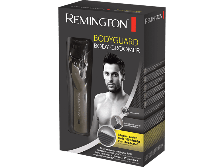 REMINGTON BHT100 FLEX Bodygroomer Schwarz matt