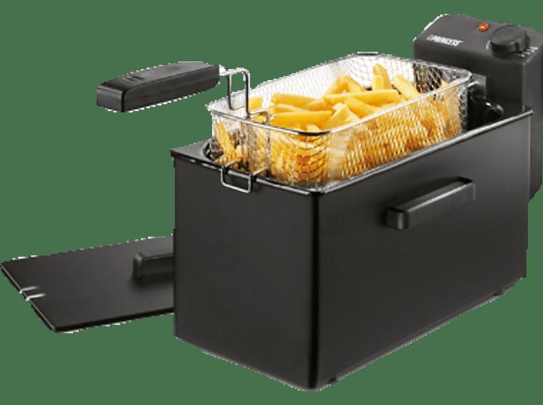 PRINCESS 182727 Black Fryer Fritteuse  2000 Watt Schwarz