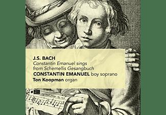 Constantin Emanuel, Ton Koopman - Constantin Emanuel Sings From Schemellis Gesangbuch  - (CD)