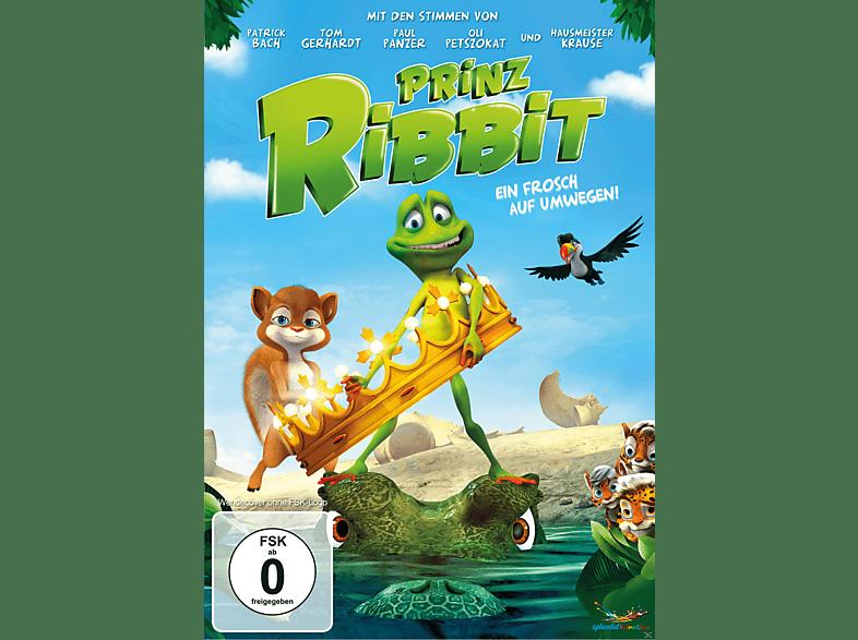Prinz Ribbit - Ein Frosch auf Umwegen! [DVD]