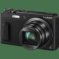 PANASONIC Lumix DMC-TZ58 Digitalkamera Schwarz, 16 Megapixel, 20x opt. Zoom, TFT-LCD, WLAN