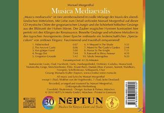 Manuel Morgenthal - Musica Mediaevalis  - (CD)