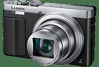 PANASONIC Lumix DMC-TZ71 LEICA Digitalkamera Schwarz/Silber, 12.1 Megapixel, 30x opt. Zoom, TFT-LCD, WLAN