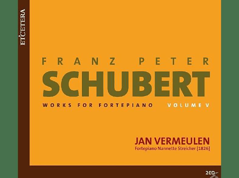 Jan Vermeulen - Schubert - Works for Fortepiano Volume 5 [CD]