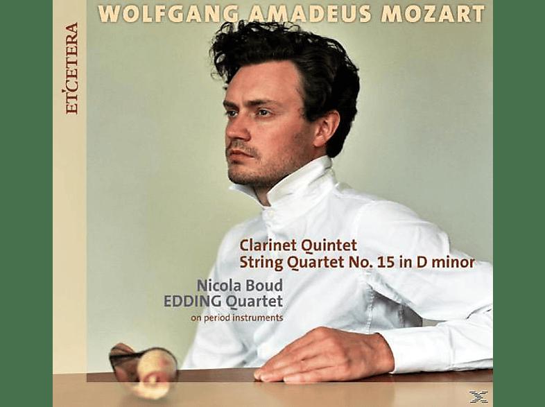 Edding Quartet - STRING QUARTET KV 421/STRING QUINTE [CD]