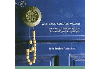 Tom Beghin - Sonaten KV 331/Fantasia KV 397/+ - (CD)