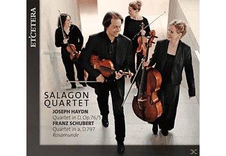 Salagon Quartet - Joseph Haydn,Franz Schubert - (CD)