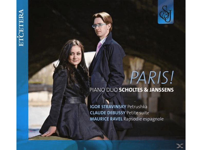 Pianoduo Scholtes & Janssens - Paris! [CD]