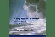 Viviane Spanoghe - 12 Fantasien/Sonate In D-Dur [CD]