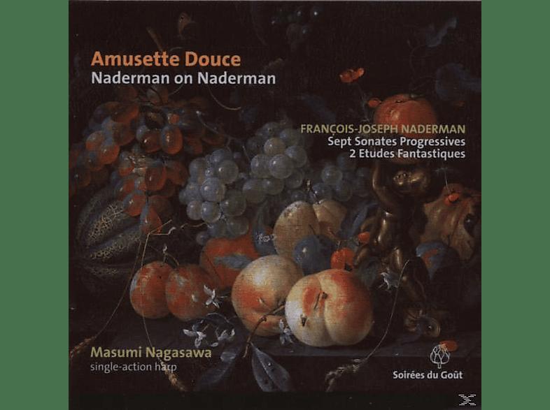 Masumi Nagasawa - Amusette Douce: Harfenmusik [CD]