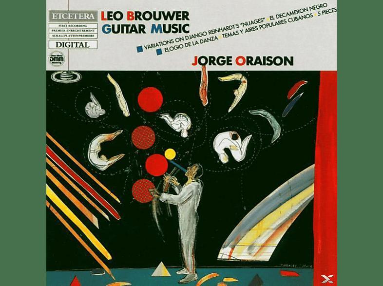 Jorge Oraison - Guitar Music [CD]