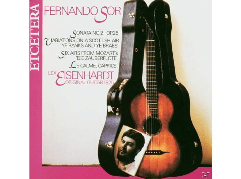 Lex Eisenhardt - Music For Guitar [CD]